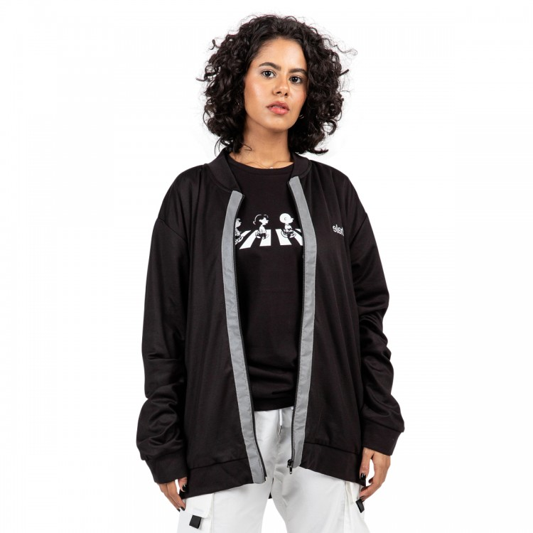 snoopy & friends bomber jacket // women