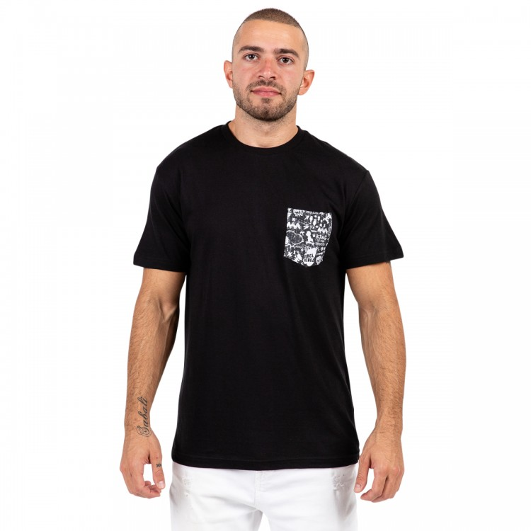 Snoopy the rebel pocket t-shirt // men