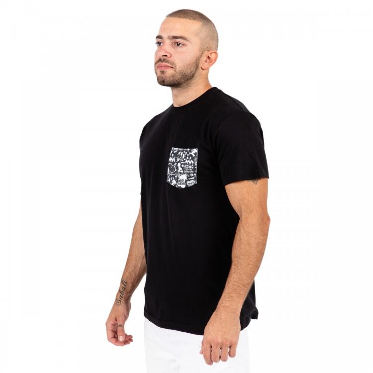 Snoopy the rebel pocket t-shirt // men