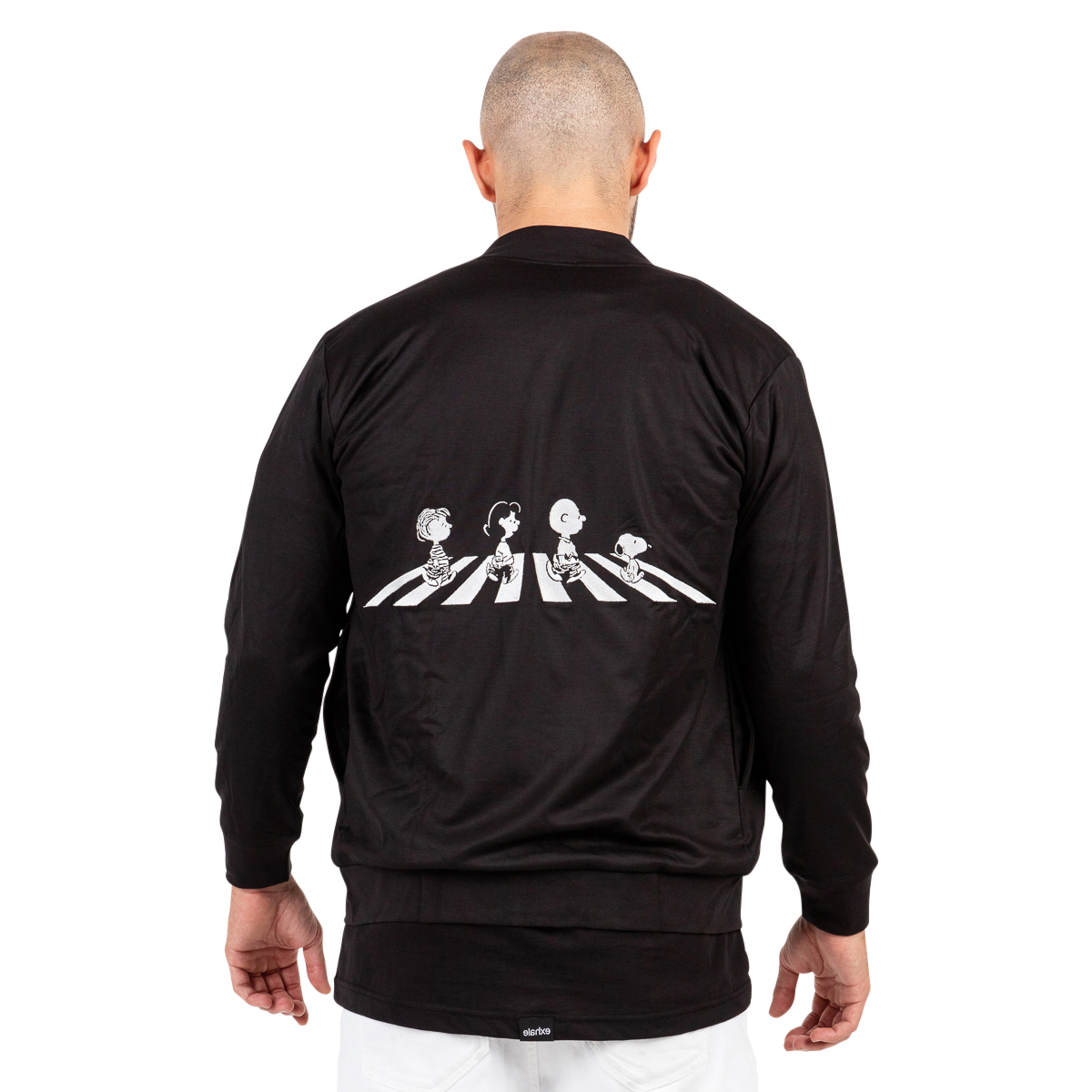 snoopy & friends bomber jacket // men
