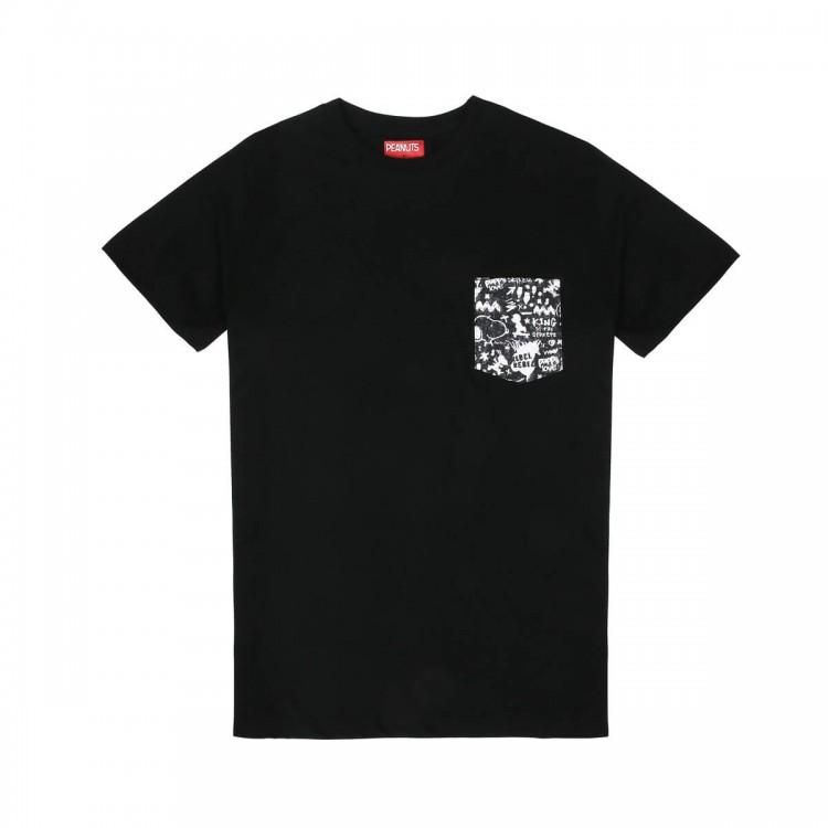 Snoopy the rebel pocket t-shirt // unified