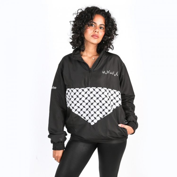 Palestine land within jacket // women