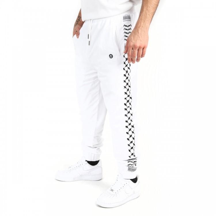 Palestine joggers white // men