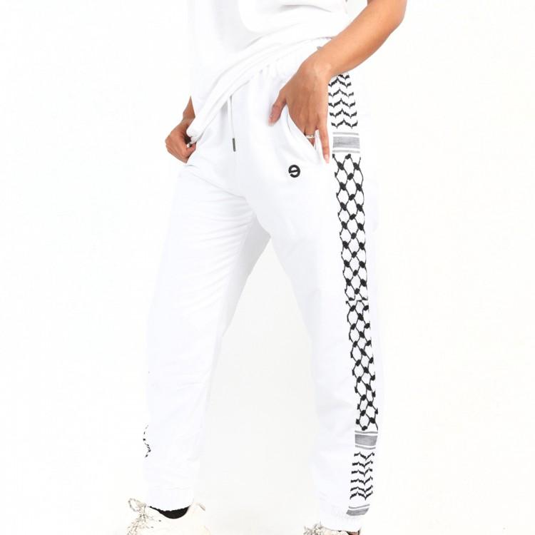 Palestine joggers white // women